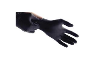Obrazek dla kategorii Rękawiczki nitrylowe bezpudrowe czarne