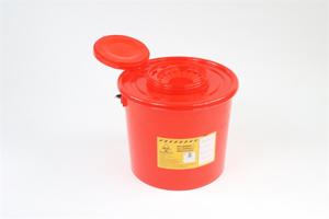 Obrazek Pojemniki na zużyty sprzęt medyczny. Pojemnik na odpady medyczne, kosmetyczne 5 L