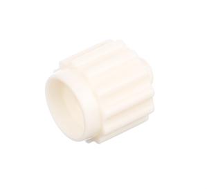 Obrazek Koreczek koreczki do wenflonu białe 50 sztuk