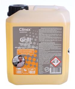 Obrazek Płyn do mycia grilli i piekarników Clinex Grill 5 L