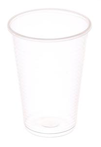 Obrazek Kubek jednorazowy plastikowy przeźroczysty. Kubki plastikowe  0,2l 100 szt.