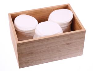 Obrazek Płatki kosmetyczne 100 % bawełny LINTEO SATIN Opakowanie 100 szt. - 1 karton (36 opakowań)