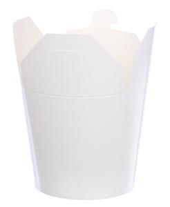 Obrazek Jednorazowe opakowanie na wynos, kebab box biały 750 ml 50 sztuk
