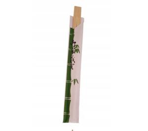 Obrazek Drewniane pałeczki chińskie pałeczki do sushi, opakowanie 75 sztuk
