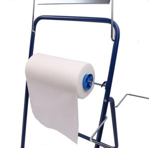 Obrazek Ręczniki z włókniny. Czyściwa Czyściwo Clean Max 44 m 1 rolka białe kod-1603