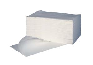 Obrazek JEDNORAZOWY RĘCZNIK KOSMETYCZNY DO MANICURE PEDICURE Ręcznik AIRLAID 40X70 cm 100 sztuk SUPER CHŁONNY