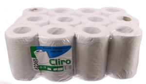 Obrazek Ręczniki papierowe makulaturowe szare Ręcznik papierowy z makulatury 60 m 1 rolka