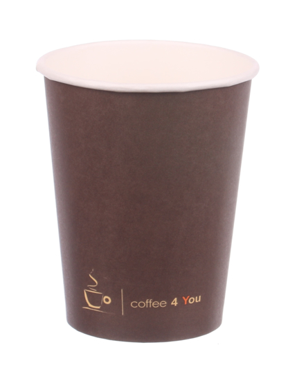 Obrazek Kubek jednorazowy papierowy Coffe 4 You 0,3l/300 ml 50 sztuk