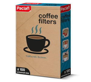 Obrazek Filtr papierowe jednorazowe do kawy uniwersalne 100 szt.