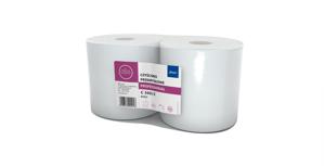 Obrazek Ręczniki papierowe czyściwo celulozowe 2 warstwowe białe C 300/2. Ręcznik papierowy 290 m 2 rolki