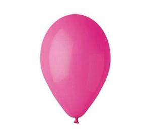 Obrazek WYPRZEDAŻ Balony pastelowe fuksja G90/07 obwód 80cm Opakowanie 100 sztuk WYPRZEDAŻ -15%