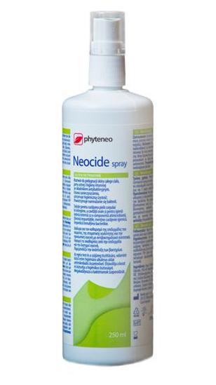 Obrazek OCTENISEPT NEOCIDE SPRAY 250ml Roztwór do skóry, błon śluzowych i jamy ustnej,  Zawiera Octenidynę i Fenoksyetanol