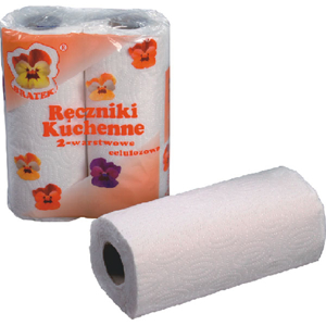 Obrazek Ręcznik kuchenny 2 rolki 11 m. Ręczniki papierowe 2 rolki po 11 m