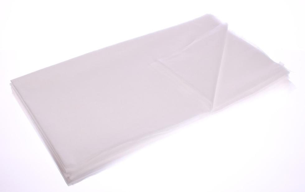 Obrazek Prześcieradło jednorazowe ochronne z miękkiej kryjącej włókniny. Podkład higieniczny włókninowy. Prześcieradło kosmetyczne. Prześcieradło z włókniny 75x175 cm białe 10 szt.