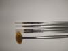 Obrazek Zestaw pędzelków Zestaw pędzli do żelu, akrylu, zdobień paznokci opakowanie pędzelki 5 sztuk