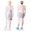 Obrazek Fartuch jednorazowy ochronny medyczny Fartuchy jednorazowe z białej włókniny XL 1 sztuka