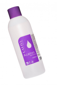 Obrazek Aceton kosmetyczny 1000 ml Rozpuszcza akryl tipsy lakiery hybrydowe