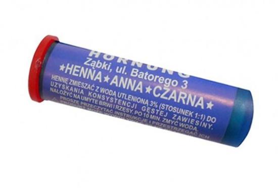 Obrazek Henna w proszku Anna Henna do brwi i rzęs w proszku czarna 2 g
