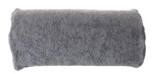 Obrazek Pokrowiec frotte na poduszkę do manicure. Pokrowiec na wałek do manicure frotte 30x15 cm wysokość 7 cm kolor stalowy nr 40