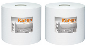 Obrazek Ręczniki papierowe Ręcznik papierowy 1 rolka 200 m Czyściwo PREMIUM PLUS GRASANT 72099