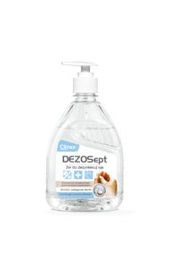 Obrazek Clinex Dezosept – Żel do dezynfekcji rąk o zapachu kokosowym 500 ml