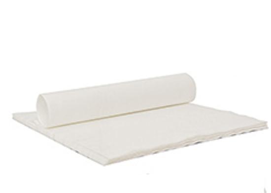 Obrazek Chusty zabiegowe miękkie Ręcznik z włókniny 40x70 cm  składane 100 sztuk Gramatura 45/m2 ( grube chłonne )
