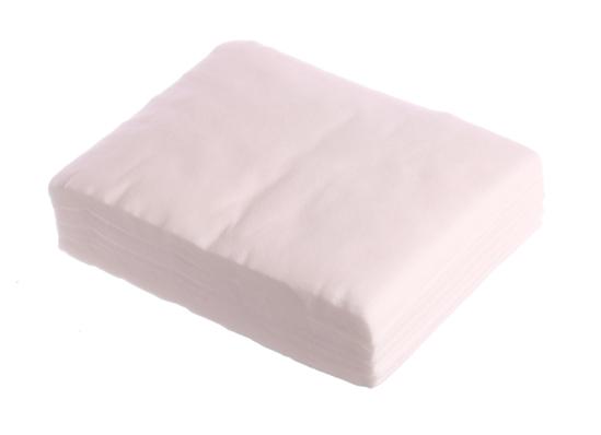 Obrazek Chusty zabiegowe włókninowe 15x10 cm 100 sztuk Chusteczki Chusty kosmetyczne z miękkiej włókniny Myjki jednorazowe do mycia twarzy i ciała TOWAR NA ZAMÓWIENIE MIMIMALNE ZAMÓWIENIA 100 OPAKOWAŃ