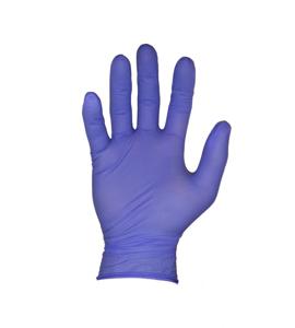 Obrazek HURT Rękawiczki nitrylowe bezpudrowe fioletowe M Rękawice diagnostyczne medyczne  3 KARTONY 30 OPAKOWAŃ PO 100 SZTUK