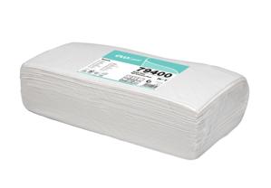 Obrazek Chusty zabiegowe  40x80 cm Chusta zabiegowa 40 cm x 80 cm AILRAID   Jednorazowe Ręczniki fryzjerskie AILRAID mocno chłonne Ręcznik fryzjerski z celulozy z domieszką włókniny 50 szt.