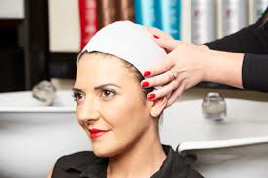 Obrazek Jednorazowe ręczniki fryzjerskie 40x70 cm Ręcznik fryzjerski AILRAID mocno chłonne z celulozy z domieszką włókniny 50 szt.