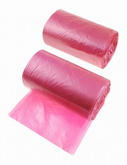 Obrazek Worki na odpady medyczne czerwone super wytrzymałe 35 L 50 szt. Worki na śmieci czerwone 35L