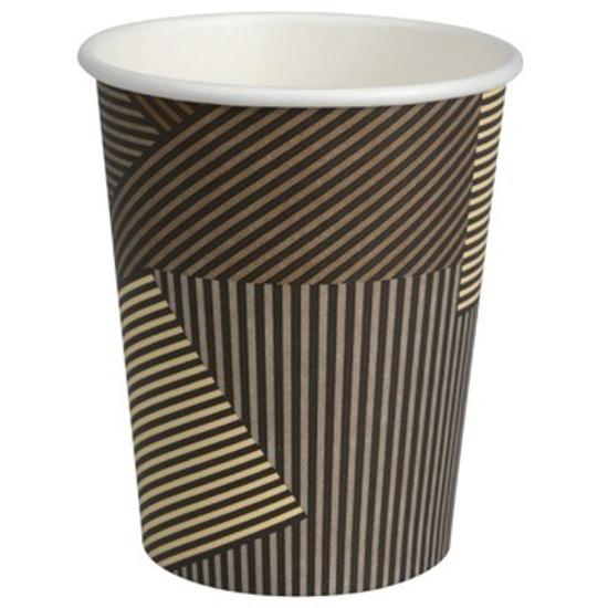 Obrazek Kubek jednorazowy do kawy herbaty Kubki jednorazowe ABENA 0,24L / 240 ml 50 szt.